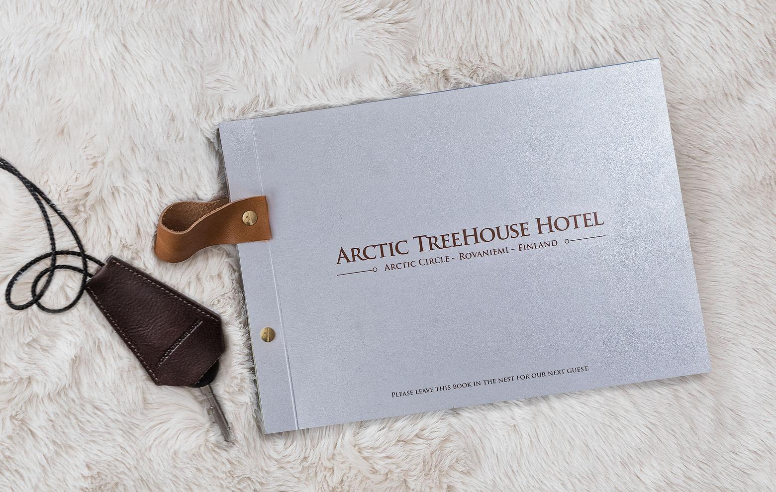 Hotellikirja ja avainkotelo