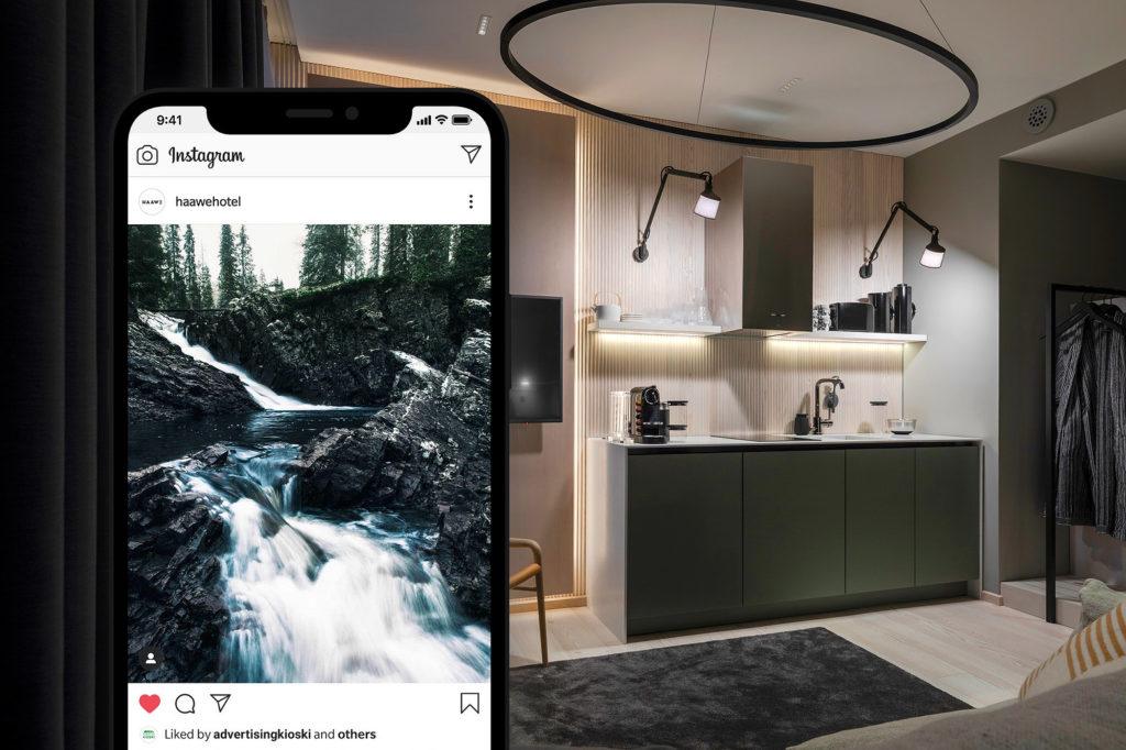 Sosiaalisen median kanavat kuntoon suunnitelmallisella sisällöntuotannolla – Haawe Boutique Apart Hotel