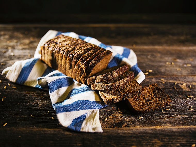 Tuotekuva täysruukisesta ruisleivästä