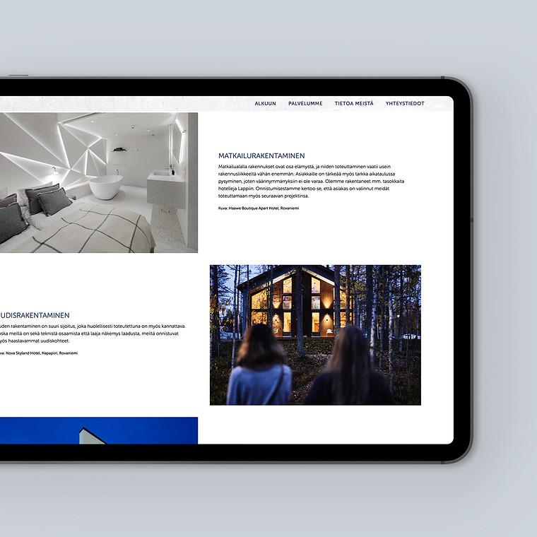 Brändiuudistuksen myötä Juto tarvitsi uudet verkkosivut.