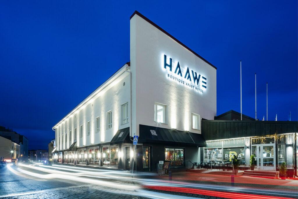 Vahvalla tarinalla brändi kirkkaammaksi - Haawe Boutique Apart Hotel